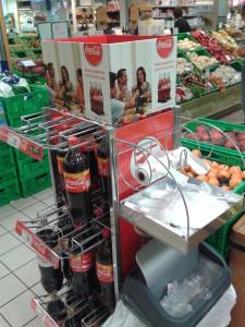 Espositore Coca Cola ortofrutta