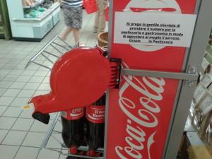 Espositore Coca Cola gastronomia