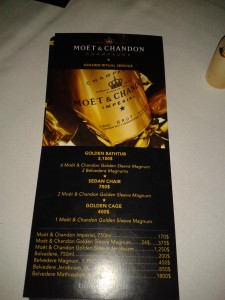 Moet & Chandon Golden Ritual Service