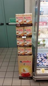 espositore Nutella B-ready 1