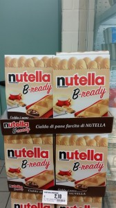 Espositore Nutella B-ready 2
