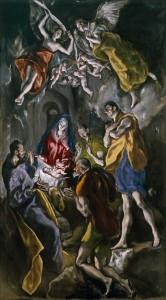 El Grego-Adoração dos Pastores