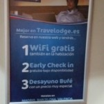 Reception Travelodge Valencia