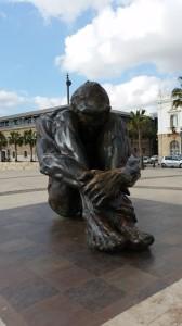 Monumento alle vittime del terrorismo. Cartagena, Spagna.